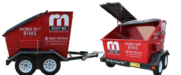 Dual Mobile Skip bin for hire